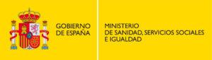 Logo del Ministerio de Sanidad, Servicios e iguadad
