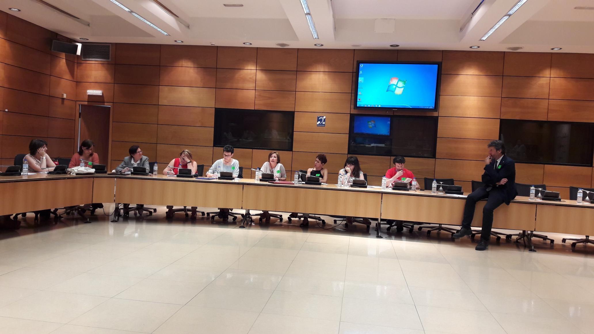 Primera sesión del Grupo de Trabajo 4